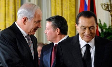 Netanyahu, Mubarak