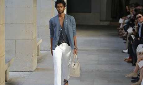 French designer Veronique Nichanian for Hermes SS 2012 men