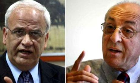 Saeb Erakat & Yitzhak Molho