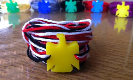 Zeina Hosni patriotic bracelets