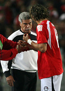 Mido and Shehata in 2006