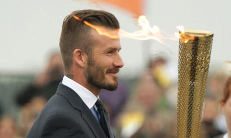 flame for london games arrives in britain news london