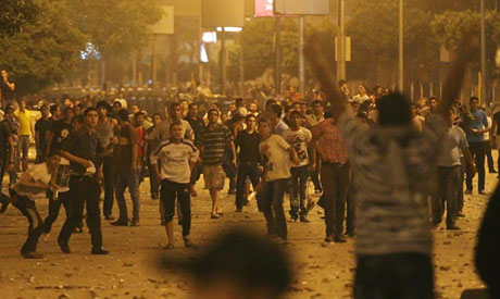 Egyptians clash in Cairo