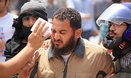 Egyptians clash