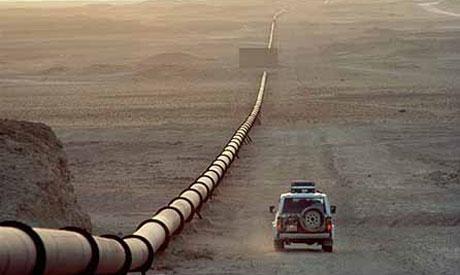 Desert pipeline