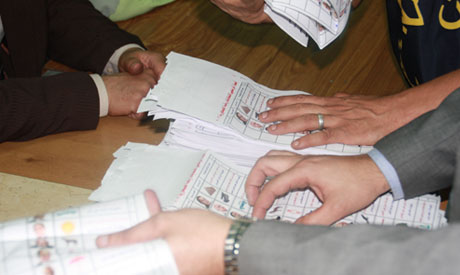 Votes-tally in Boulaq Abu El-Ela  (Photo: Mohamed Nada)