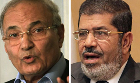Morsi and Shafiq