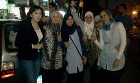 Released women