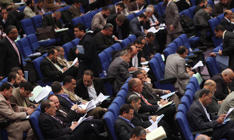 Egyptian parliamentarians cast ballots to select a 100-member constituent assembly
