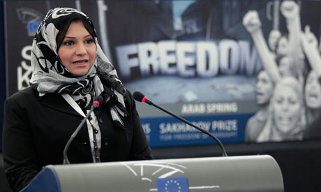 Asmaa Mahfouz of Egypt,