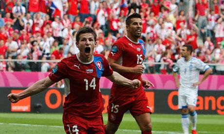 Greece and Czech Republic