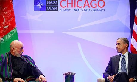 Obama & Karzai