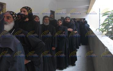 Coptic priests vote