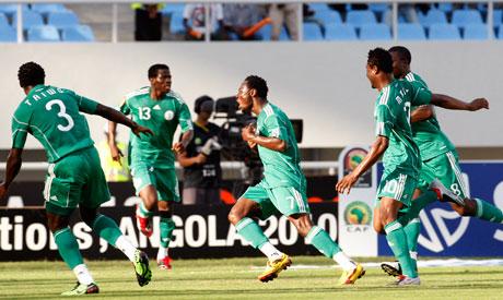 Nigeria players