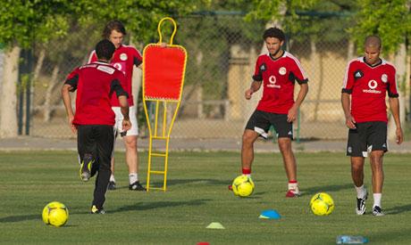 Egypt players