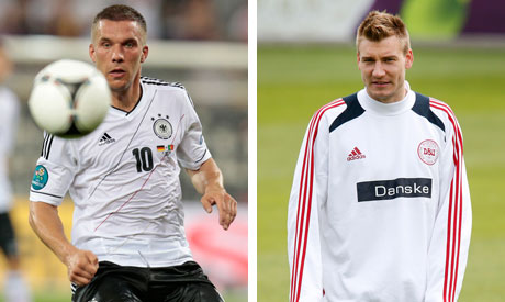 podolski and Bendtner