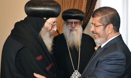 Morsi and pope