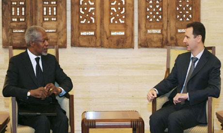 Annan & Assad