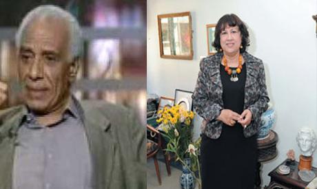 Hala El-Badry and Hassan Teleb