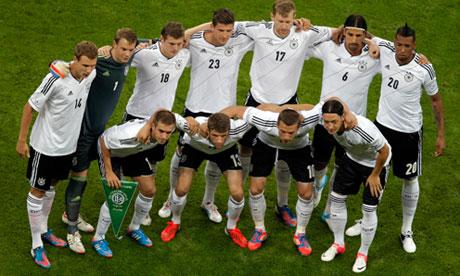 The German national soccer team