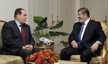 Ganzouri with Morsi