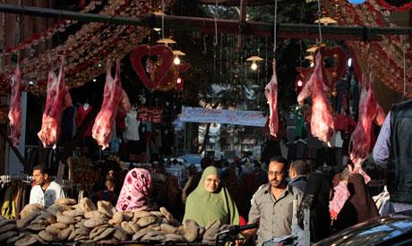 market in Cairo