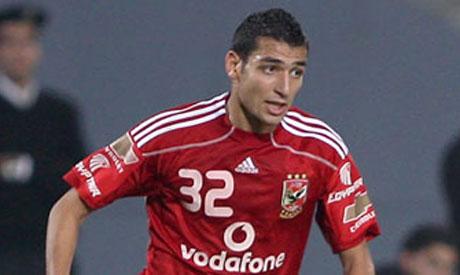 Ahly winger Ahmed Shokry