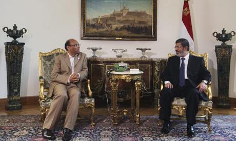 Marzouki & Morsi