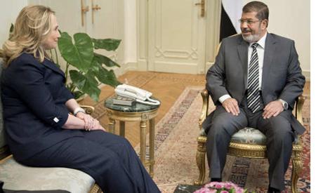Clinton-Morsi