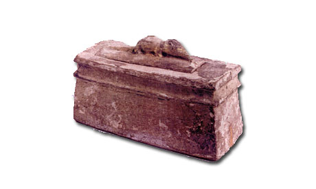 the sarcophagus