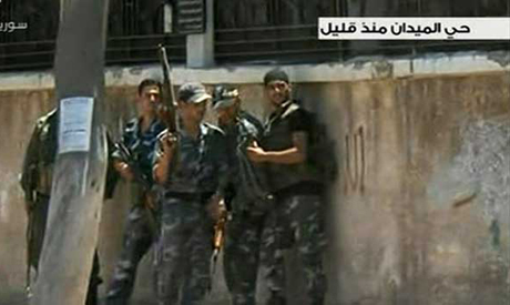 Damascus fighting