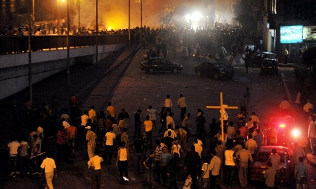Copts protest