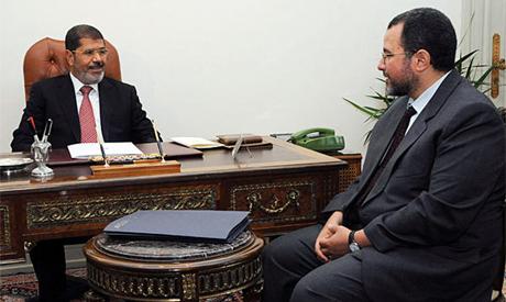 Hisham Qandil and Kamal El Ganzouri