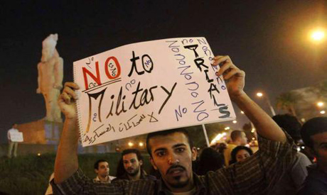 No to Military Trials