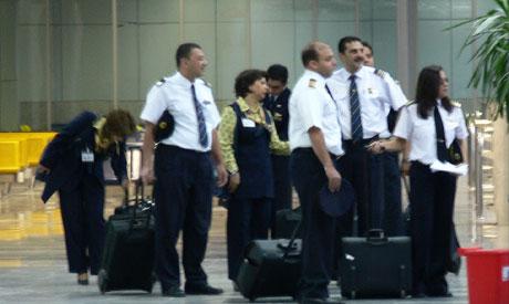 EgyptAir crew