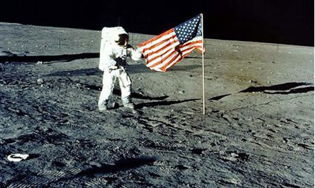 US flags still on the moon, except one: NASA ...