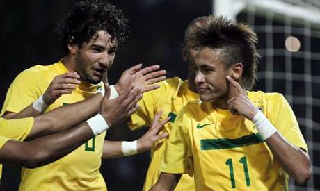 Pato and Neymar