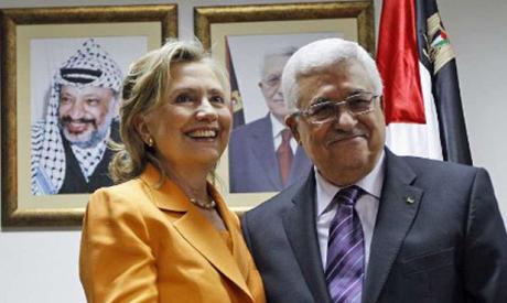 Clinton & Abbas