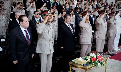 new President Mohammed Morsi