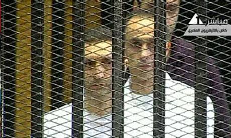 Alaa Mubarak and Gamal Mubarak