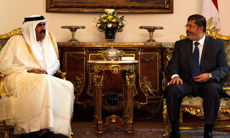 Morsi and Hamad