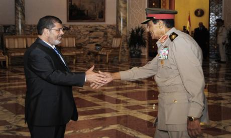 Tantawy and Morsi