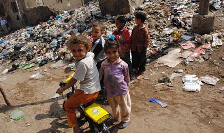 Poor People in Egypt