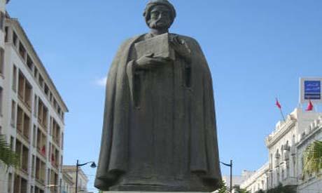 Statue of Ibn Khaldun