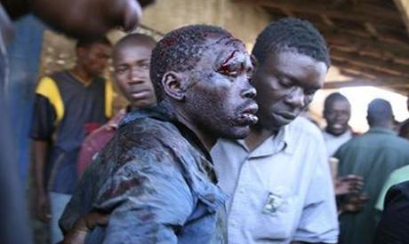 Kenya clashes 2008
