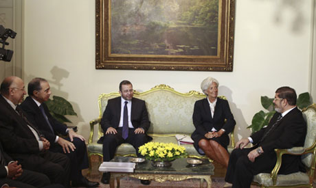 Morsi and Lagarde