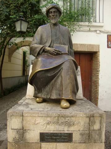 Statue of Ibn Maimoun