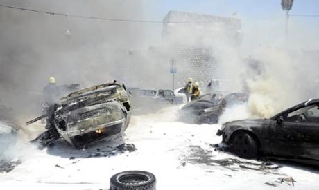 Syria car explosion