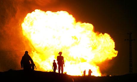 Egypt gas loss