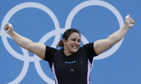 London 2012: Egypt's Nahla 5th in Olympics Weightlifting ...
